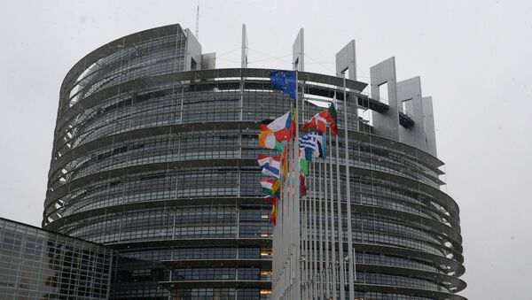 Здание Европарламента в Страсбурге. - Sputnik Армения