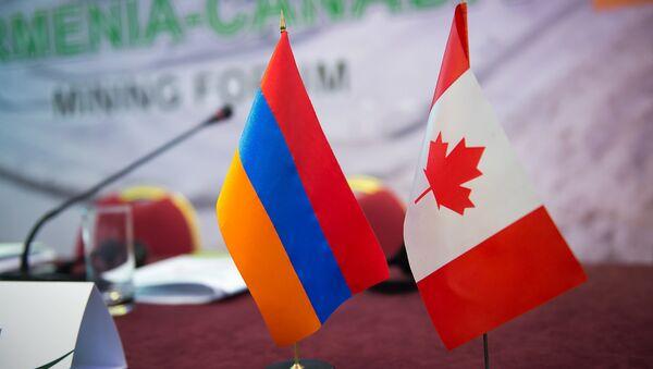 Флаги Армении и Канады - Sputnik Армения