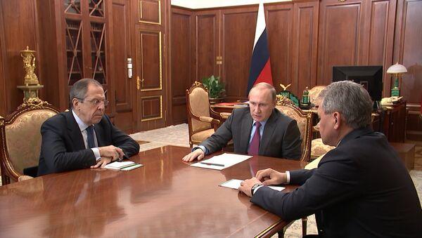 Спутник_Задача в целом выполнена – Путин поручил начать вывод войск РФ из Сирии  - Sputnik Армения