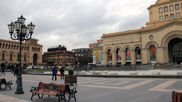 Площадь Республики. Ереван - Sputnik Армения
