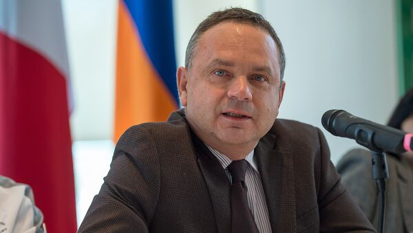 Посол Франции в Армении Жан Франсуа Шарпантье - Sputnik Армения
