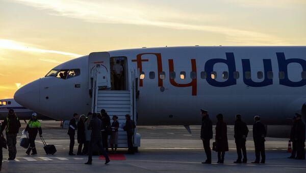 Самолет авиакомпании Flydubai - Sputnik Արմենիա