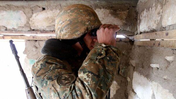 Армянский военнослужащий - Sputnik Արմենիա