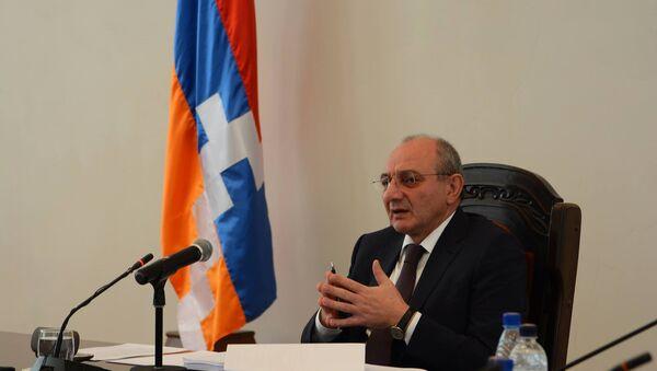 Президент НКР Бако Саакян  - Sputnik Արմենիա