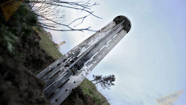 Гадрут. Нагорный Карабах. Снаряды системы Смерч - Sputnik Արմենիա