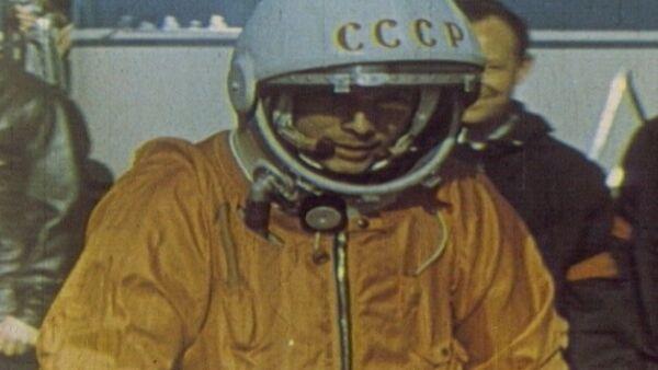 Спутник_Юрий Гагарин – человек, первым побывавший в космосе. Кадры из архива - Sputnik Արմենիա