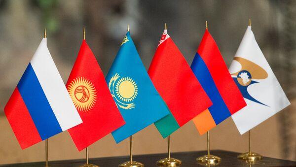 Совещание ЕЭК на уровне руководителей антимонопольных органов государств Евразийского экономического союза (ЕАЭС) и Члена Коллегии (Министра) по конкуренции и антимонопольному регулированию Евразийской экономической комиссии Нурлана Алдабергенова - Sputnik Армения