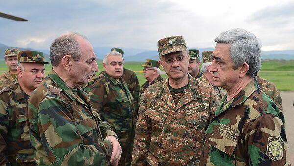 Визит президента Армении Сержа Саргсяна в НКР - Sputnik Արմենիա