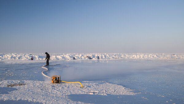Дрейфующий ледовый лагерь Барнео в Арктике - Sputnik Արմենիա