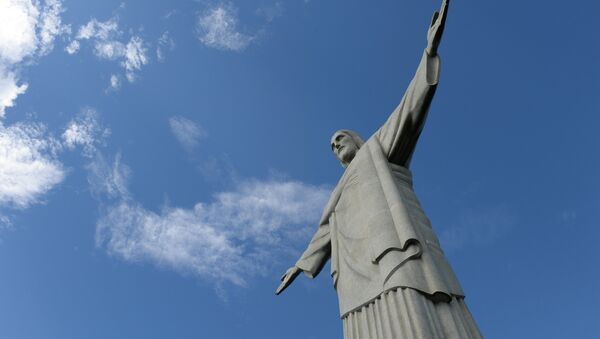 Статуя Христа-Искупителя на горе Корковаду в Рио-де-Жанейро. - Sputnik Армения
