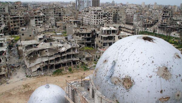 Ситуация в сирийском городе Хомс - Sputnik Армения