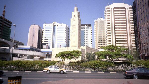 Центр города Абу-Даби - Sputnik Արմենիա