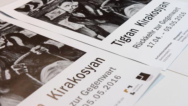 Брошюра выставки Тиграна Киракосяна, посвященная Геноциду армян - Sputnik Армения