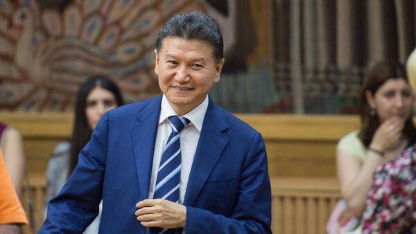 Президент ФИДЕ Кирсан Илюмжинов присутствовал на церемонии открытия чемпионата мира по шахматам среди глухих в Ереване - Sputnik Армения