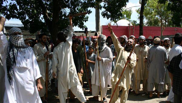 Противостояние радикальных исламистов и сил правопорядка в Исламабаде - Sputnik Армения