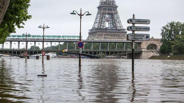 Наводнение в Париже - Sputnik Արմենիա