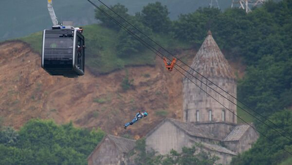 Basejumping в Татеве - Sputnik Армения