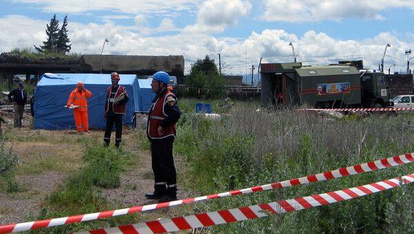 Учения армянских спасателей в условиях землетрясения - Sputnik Արմենիա