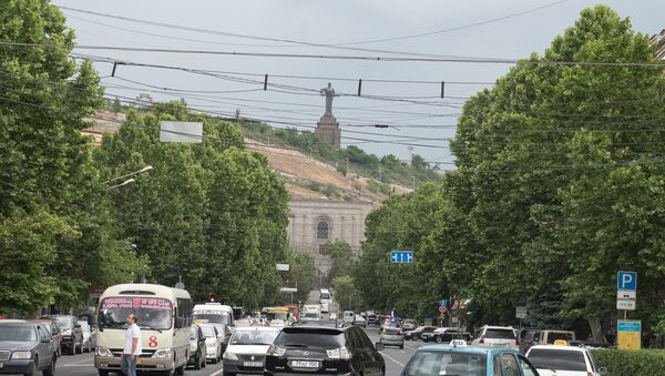 Ереван. Памятник Мать-Армения - Sputnik Армения