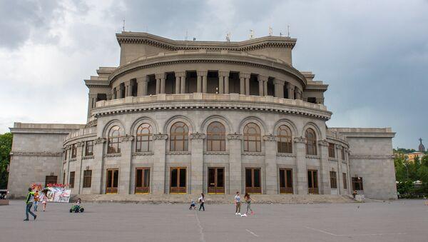 Здание Оперы и балета им. Александра Спендиаряна - Sputnik Армения