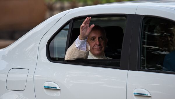 Папа Римский Франциск I в Армении - Sputnik Արմենիա