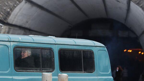Рокский перевальный тоннель, соединяющий Россию с Южной Осетией - Sputnik Армения