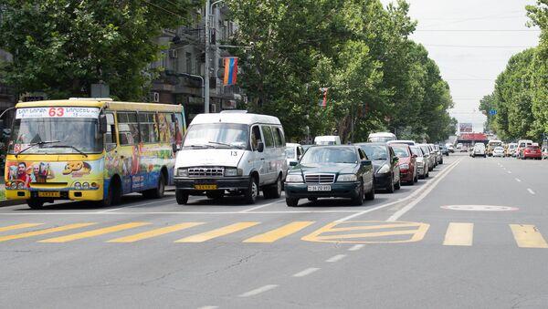 Дорога, улица, движение , транспорт, машины - Sputnik Армения