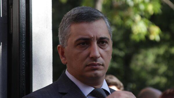 Начальник управления информации и по связям с общественностью полиции Армении Ашот Агаронян  - Sputnik Արմենիա