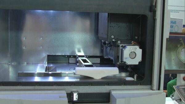 СПУТНИК_Первый промышленный российский 3D-принтер представили на Иннопроме-2016 - Sputnik Армения
