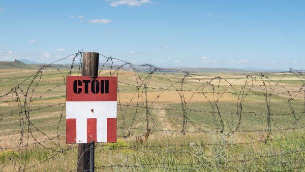 Армяно-турецкая граница - Sputnik Армения