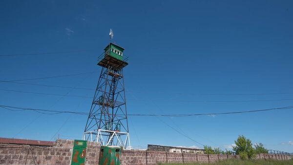 Сторожевая вышка за армяно-турецкой границе - Sputnik Армения
