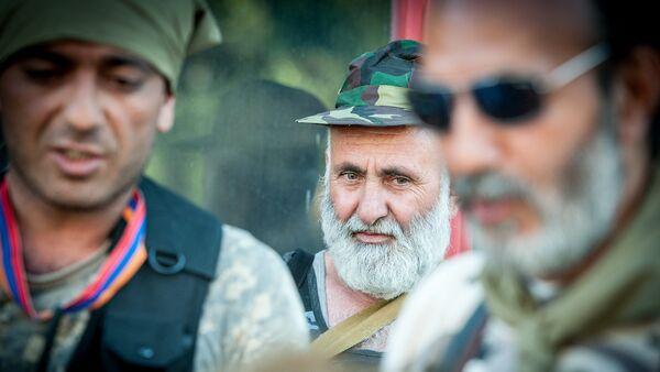 Члены вооруженной группы, захватившей здание полка ППС в Ереване - Sputnik Армения