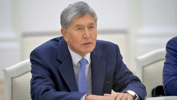 Алмазбек Атамбаев  - Sputnik Армения
