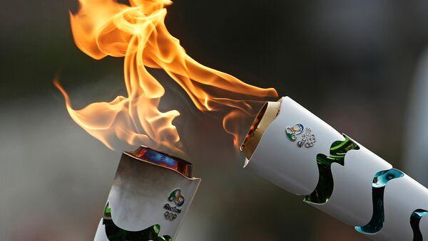 Огонь Олимпийских игр в Бразилии - Sputnik Армения