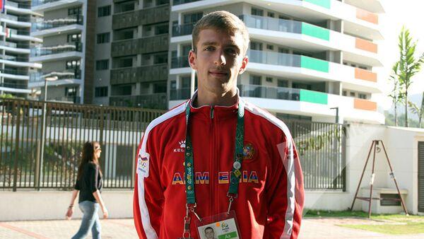 Левон Агасян: в Рио буду стремиться попасть в финал - Sputnik Արմենիա