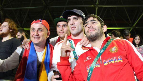 Армянские спортсмены в Рио. Нарек Абгарян - Sputnik Армения