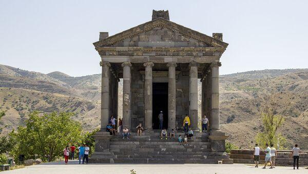 Храм Гарни  - Sputnik Արմենիա