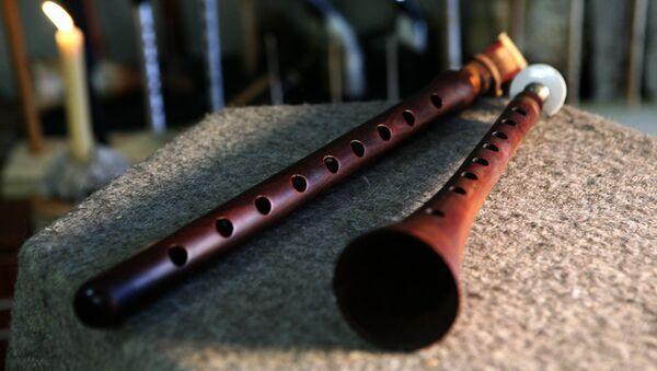 Дудук - армянский музыкальный инструмент  - Sputnik Армения