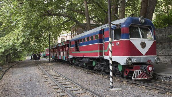 Детская железная дорога  - Sputnik Արմենիա