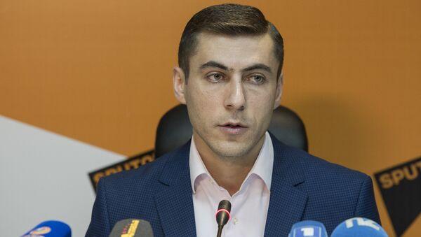 Гагик Суренян в пресс-центре Sputnik Армения - Sputnik Արմենիա