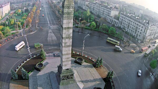 Монумент на площади Победы в Минске - Sputnik Армения