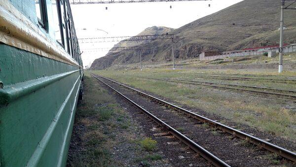 Поезд. Железная дорога - Sputnik Արմենիա