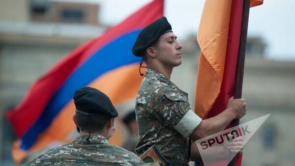 Репетиция парада к 25-й годовщине независимости Армении - Sputnik Армения