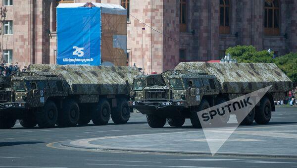 Торжественный Парад в честь 25-летия Независимости Республики Армения - Sputnik Արմենիա