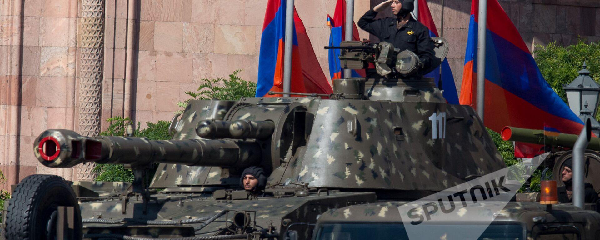 Торжественный Парад в честь 25-летия Независимости Республики Армения - Sputnik Արմենիա, 1920, 13.08.2021