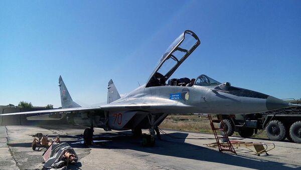 Российский самолет МИГ-29 в авиабазе Эребуни - Sputnik Արմենիա