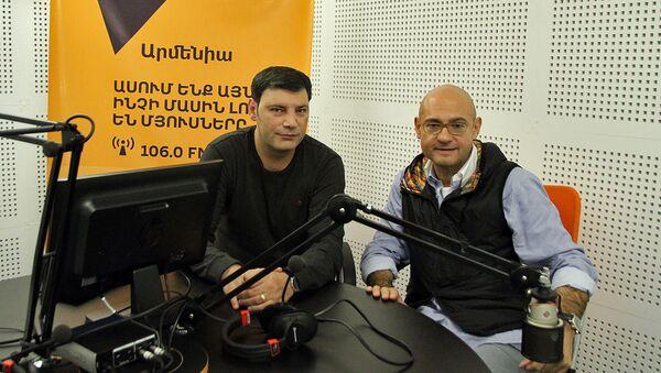 Дмитрий Пушкарь в гостях у радио Sputnik Армения - Sputnik Армения