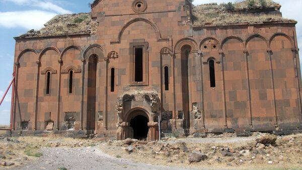 Город Ани. Турция (Западная Армения) - Sputnik Արմենիա
