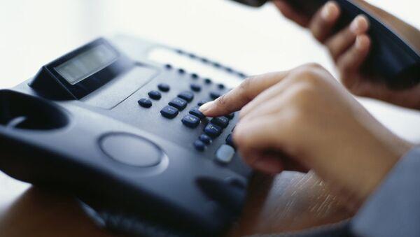 телефон звонок горячая линия служба диспетчер - Sputnik Армения