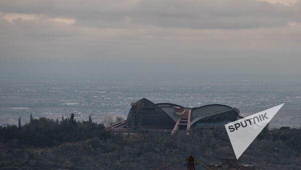 СКК. Город Ереван. Вид сверху - Sputnik Արմենիա